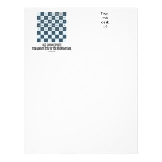 Can You Complete The Second Half Of The Chessboard Letterhead