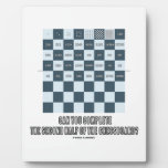 Can You Complete The Second Half Of The Chessboard Plaques