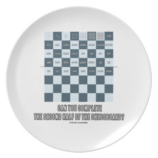 Can You Complete The Second Half Of The Chessboard Plate