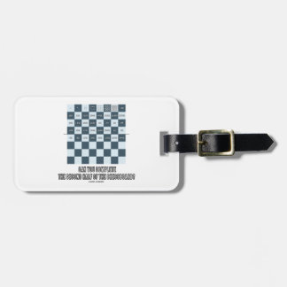 Can You Complete The Second Half Of The Chessboard Tag For Luggage