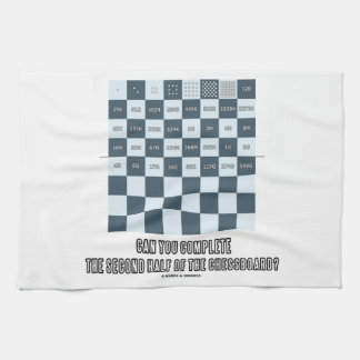 Can You Complete The Second Half Of The Chessboard Towels