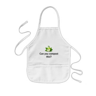 Can you compost this? kids' apron
