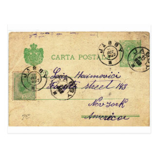 Can you decipher this vintage writing? postcard