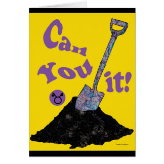 Can you dig it! - Customized Greeting Card