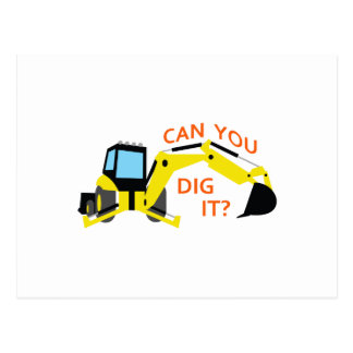 Can You Dig It? Postcard