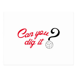 CAN YOU DIG IT POSTCARD
