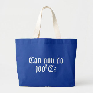 Can You Do 100ºC Dark Tote Bag