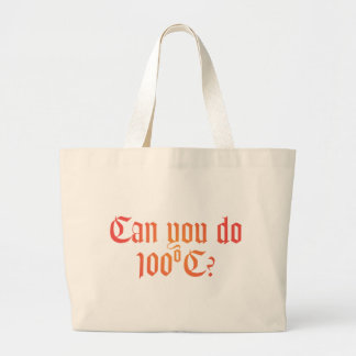 Can You Do 100ºC Tote Bag 1