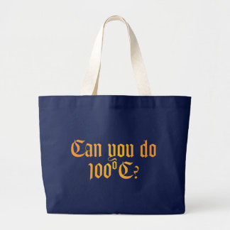 Can You Do 100ºC Tote Bag 2