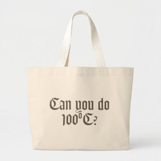 Can You Do 100ºC Tote Bag 3