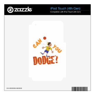 Can You Dodge? iPod Touch 4G Decal