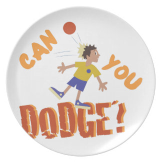 Can You Dodge? Plate