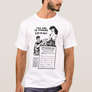 Can you draw? Vintage Ad T-Shirt
