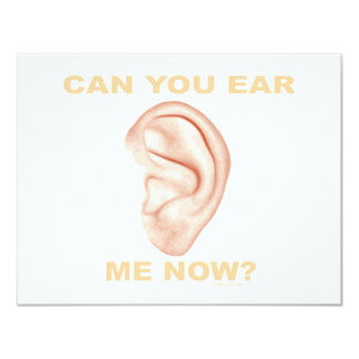 CAN YOU EAR ME NOW? T-SHIRTS AND GIFTS CARD
