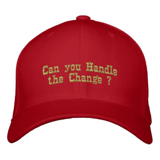 Can You!!_Embroidered Hat