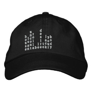 Can You Feel It Embroidered Baseball Cap