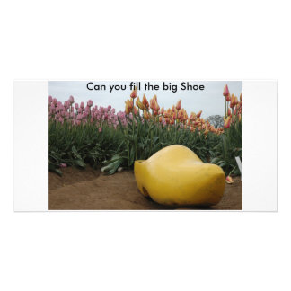 Can you fill the Big Shoe Card