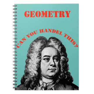 Can You Handel This? Spiral Note Book