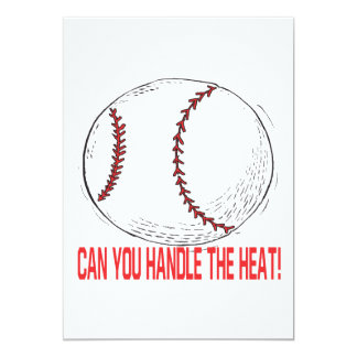 Can You Handle The Heat Card