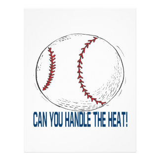 Can You Handle The Heat Full Color Flyer