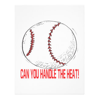 Can You Handle The Heat Flyer Design