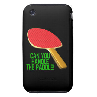 Can You Handle The Paddle iPhone 3 Tough Cover