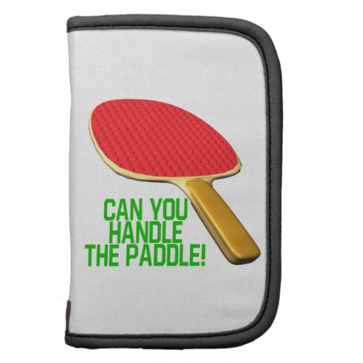 Can You Handle The Paddle Organizers