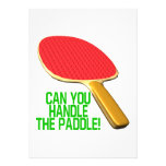 Can You Handle The Paddle Personalized Invitations