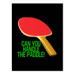 Can You Handle The Paddle Postcard