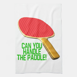 Can You Handle The Paddle Towel
