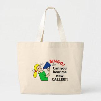 Can you hear me now bingo caller? tote bag