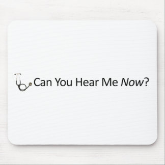 Can you hear me now mouse pad