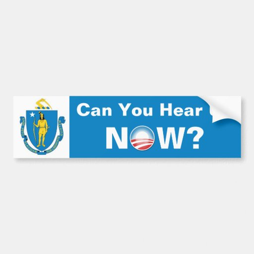 Can You Hear Us Now? Bumper Stickers