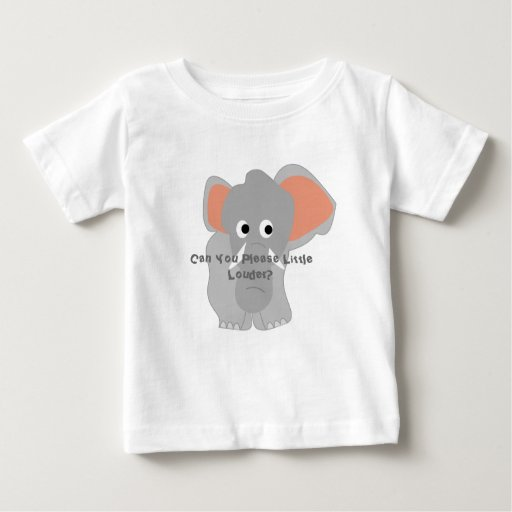 Can you please little louder? baby T-Shirt