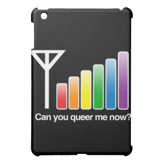 CAN YOU QUEER ME NOW - WHITE -.png iPad Mini Cases