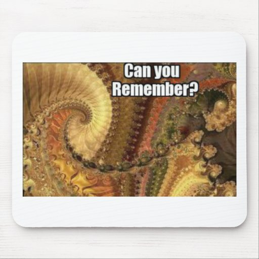 Can you remember? mouse pad