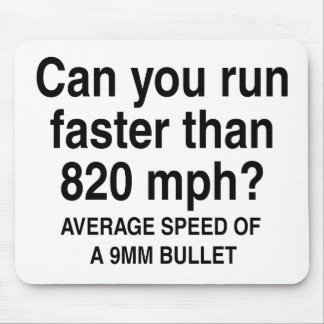 Can you run mouse pad