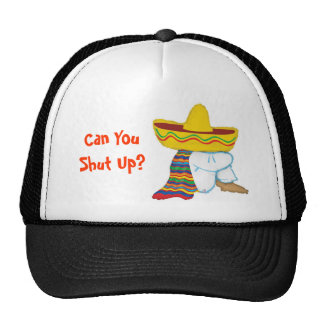 Can You Shut Up? Mesh Hat