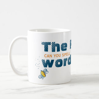 Can You Spell The F Word | Feldenkrais Bee Coffee Mug
