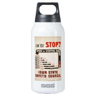 Can You Stop? Road Safety Poster SIGG Thermo 0.3L Insulated Bottle