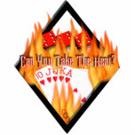 Can you take the Heat? Acrylic Cut Out