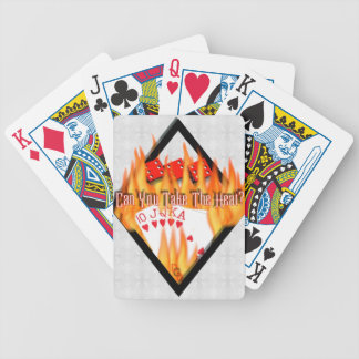Can you take the Heat? Bicycle Playing Cards