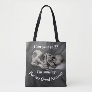 Can You Tell?  Hippo Tote Bag