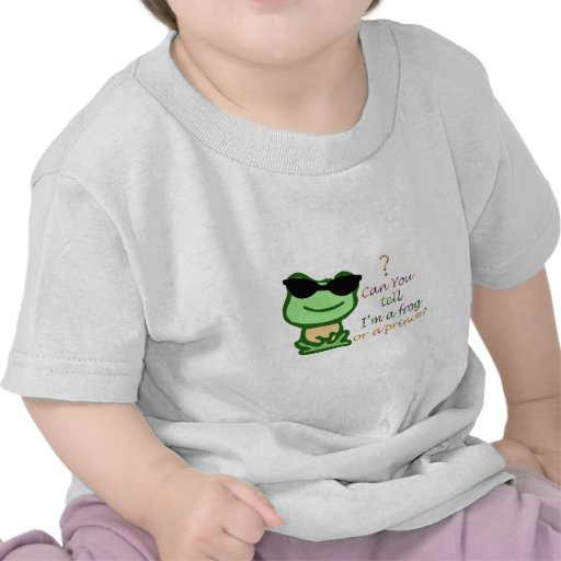 Can you tell I'm a frog or prince? T-shirts
