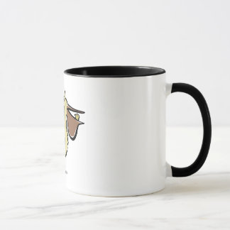 can you trust a pelican? mug