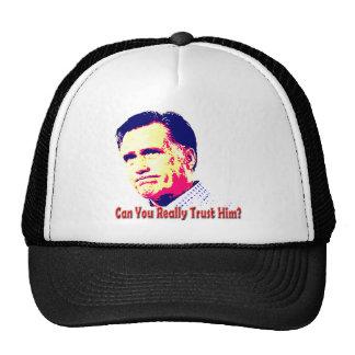 Can You Trust Mitt Romney? Mesh Hat