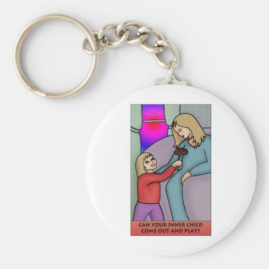 Can Your Inner Child Come Out and Play? Keychain