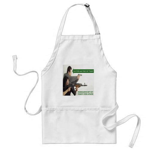 Can YOUR Man Take Out The Trash? Adult Apron