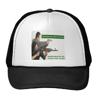 Can YOUR Man Take Out The Trash? Trucker Hats