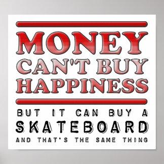 Caña de pescar de compra de la felicidad poster